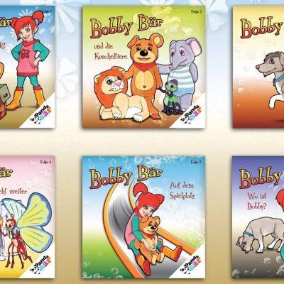 """""""Bobby Bär"""" – Charakterdesign & Cover"""